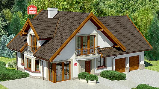 Projekt domu - Dom przy Cyprysowej 15 S1