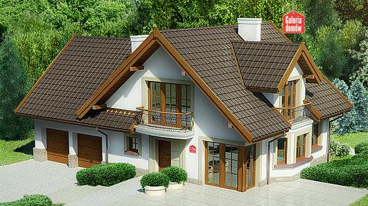 Projekt domu - Dom przy Cyprysowej 15 S2