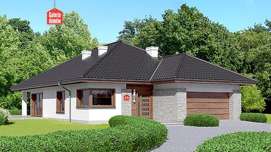 Projekt domu - Dom przy Pastelowej 6 bis