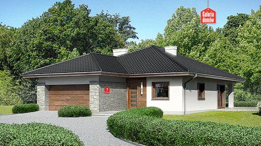Projekt domu - Dom przy Pastelowej 7