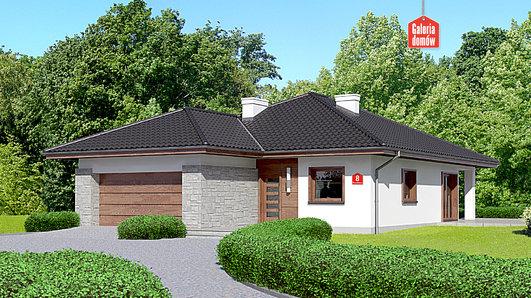 Projekt domu - Dom przy Pastelowej 8