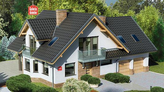 Projekt domu - Dom przy Cyprysowej 15 K2