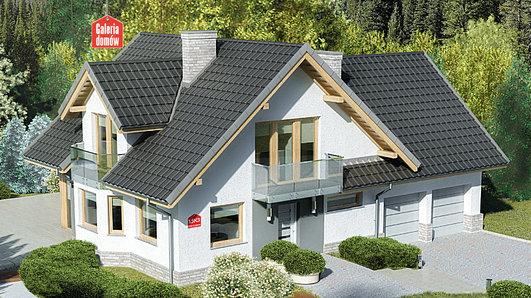 Projekt domu - Dom przy Cyprysowej 15 K3