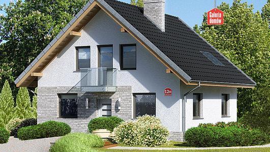 Projekt domu - Dom przy Cyprysowej 12 N