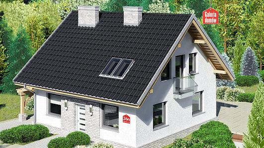 Projekt domu - Dom przy Cyprysowej 26 N