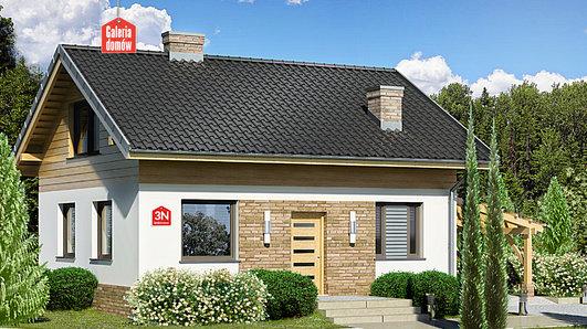 Projekt domu - Dom przy Imbirowej 3 N