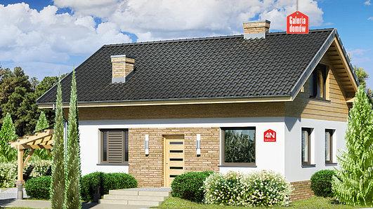Projekt domu - Dom przy Imbirowej 4 N