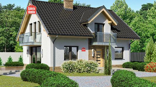Projekt domu - Dom przy Alabastrowej 20 N