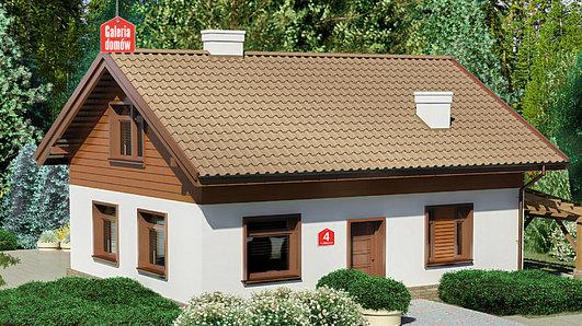 Projekt domu - Dom przy Imbirowej 4