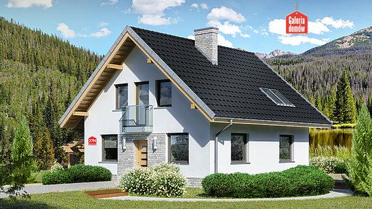 Projekt domu - Dom przy Cyprysowej 27 N