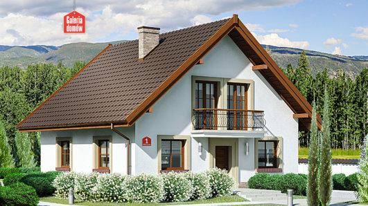 Projekt domu - Dom przy Oliwkowej