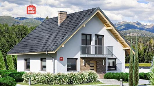 Projekt domu - Dom przy Oliwkowej N