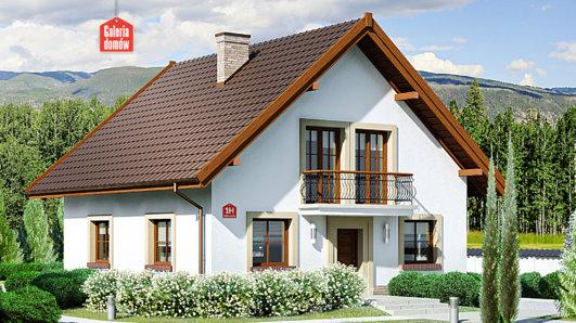 Projekt domu - Dom przy Oliwkowej H