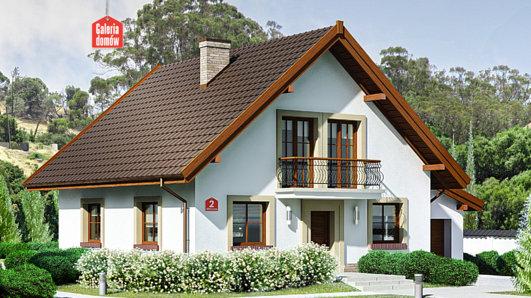 Projekt domu - Dom przy Oliwkowej 2