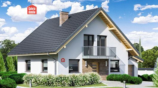 Projekt domu - Dom przy Oliwkowej 2 N