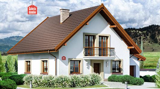 Projekt domu - Dom przy Oliwkowej 2 H