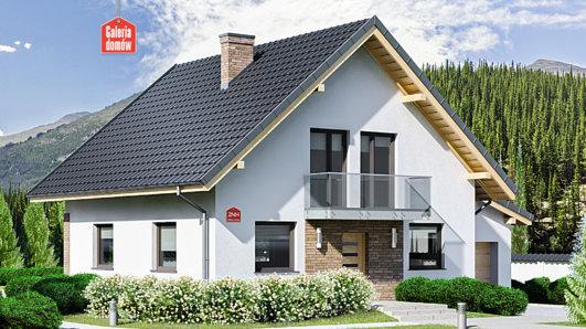 Projekt domu - Dom przy Oliwkowej 2 NH
