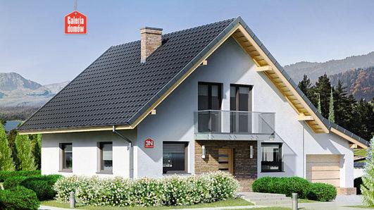 Projekt domu - Dom przy Oliwkowej 3 N
