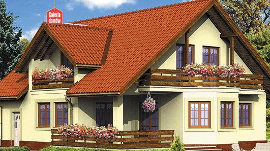 Projekt domu - Dom przy Miodowej