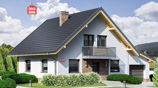 Projekt domu - Dom przy Oliwkowej 4 N