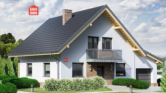 Projekt domu - Dom przy Oliwkowej 4 NH