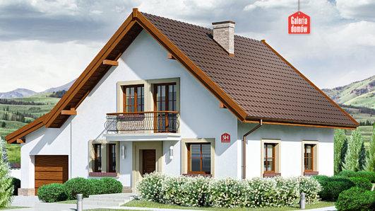 Projekt domu - Dom przy Oliwkowej 5 H