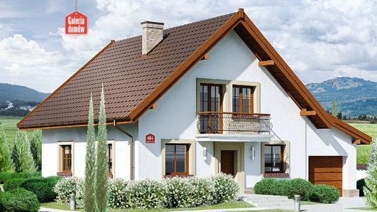 Projekt domu - Dom przy Oliwkowej 4 H