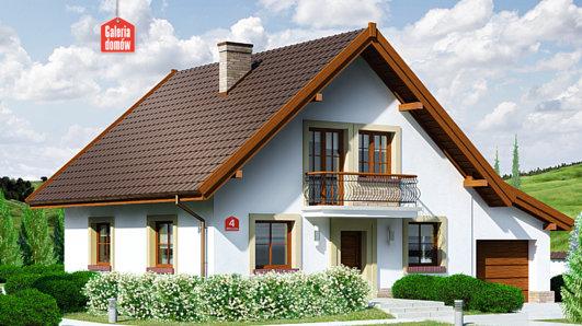 Projekt domu - Dom przy Oliwkowej 4