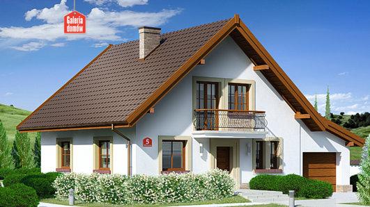 Projekt domu - Dom przy Oliwkowej 5