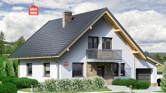 Projekt domu - Dom przy Oliwkowej 5 N