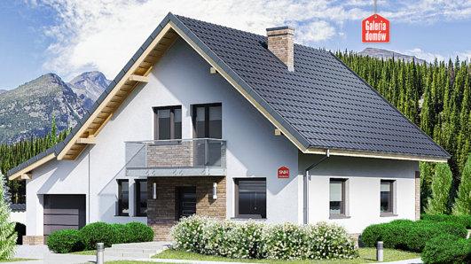 Projekt domu - Dom przy Oliwkowej 5 NH