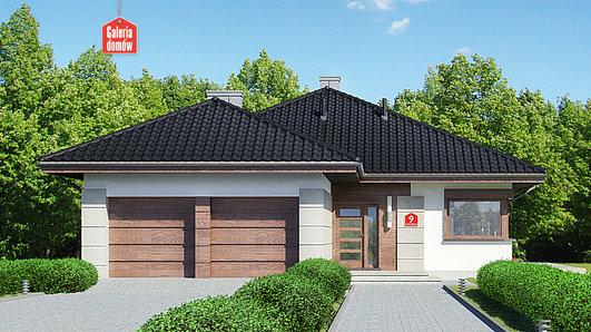Projekt domu - Dom przy Pastelowej 9