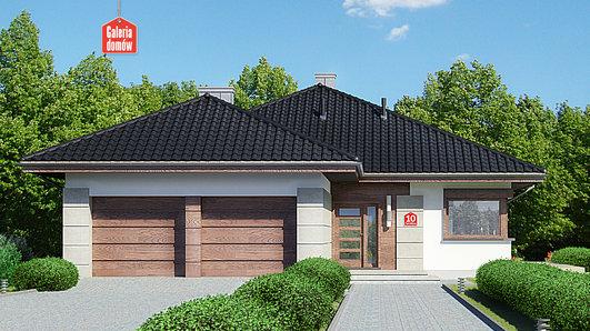 Projekt domu - Dom przy Pastelowej 10