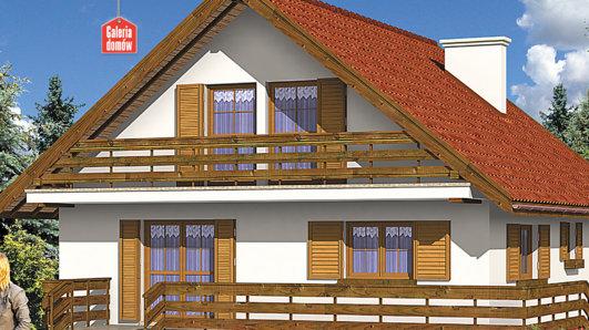 Projekt domu - Dom przy Stokrotek