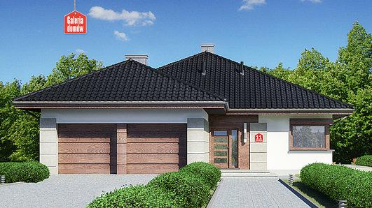 Projekt domu - Dom przy Pastelowej 11