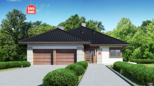 Projekt domu - Dom przy Pastelowej 12
