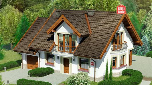 Projekt domu - Dom przy Cyprysowej 14 D