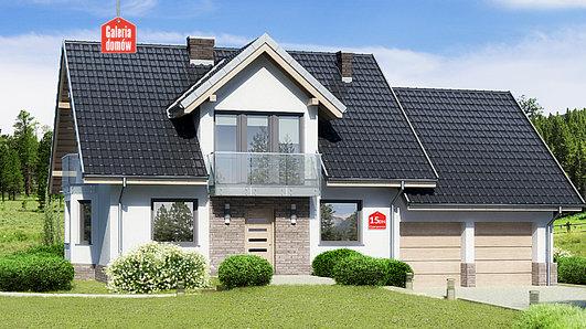 Projekt domu - Dom przy Cyprysowej 15 DN