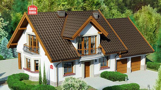 Projekt domu - Dom przy Cyprysowej 15 D