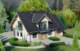 Dom Przy Cyprysowej 15 K4 Gotowy Projekt Domu Jednorodzinnego