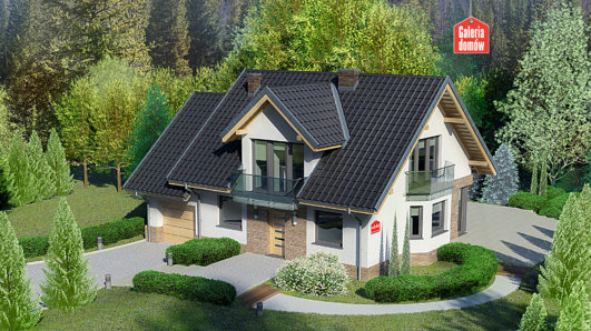 Projekt domu - Dom przy Cyprysowej 14 DN