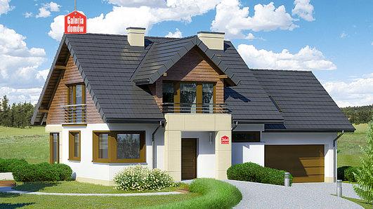 Projekt domu - Dom przy Cyprysowej 36 D