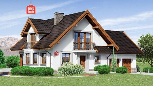 Projekt domu - Dom przy Cyprysowej 15 P