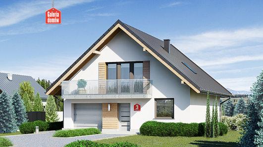 Projekt domu - Dom przy Wiązowej 3