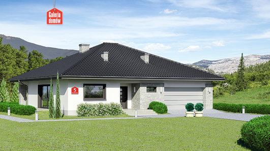 Projekt domu - Dom przy Rubinowej 5
