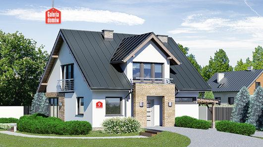 Projekt domu - Dom przy Wiosennej 9