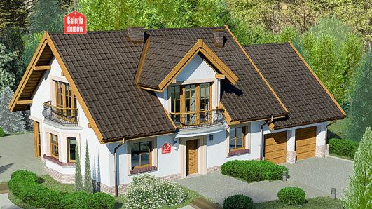 Projekt domu - Dom przy Wiosennej 12