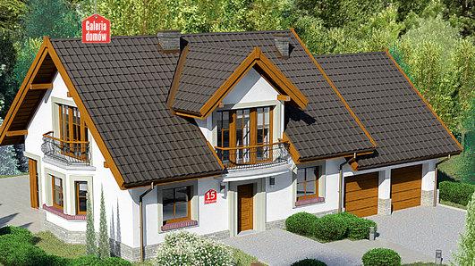Projekt domu - Dom przy Wiosennej 15