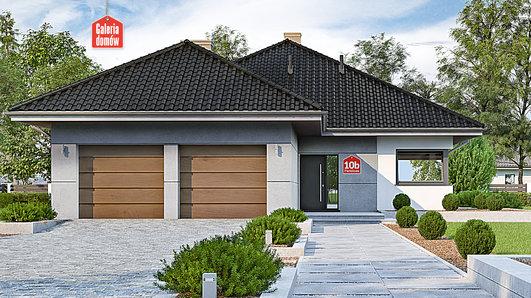 Projekt domu - Dom przy Pastelowej 10 bis