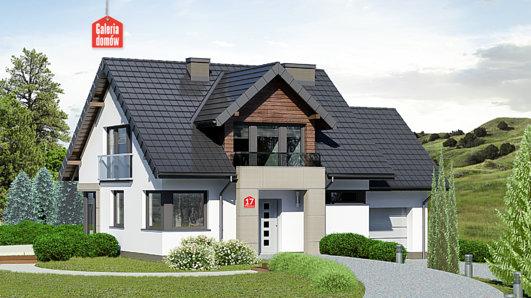 Projekt domu - Dom przy Wiosennej 17